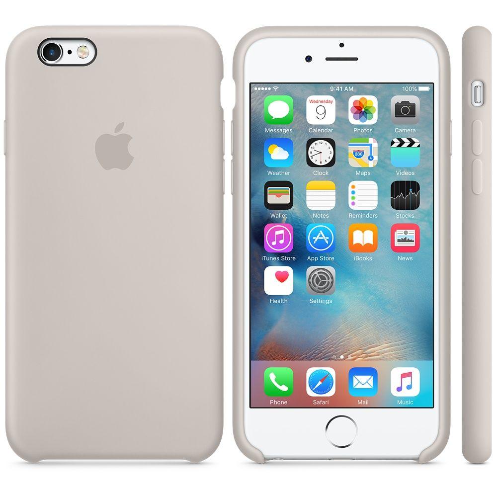 Descriere Husa de protectie APPLE pentru iPhone 6s, Silicon, Stone