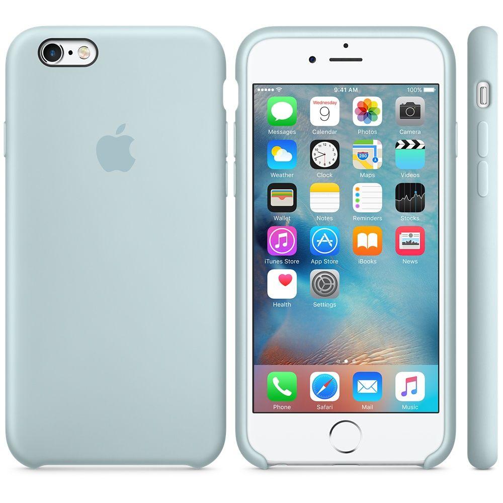 Descriere Husa de protectie APPLE pentru iPhone 6s, Silicon, Turquoise