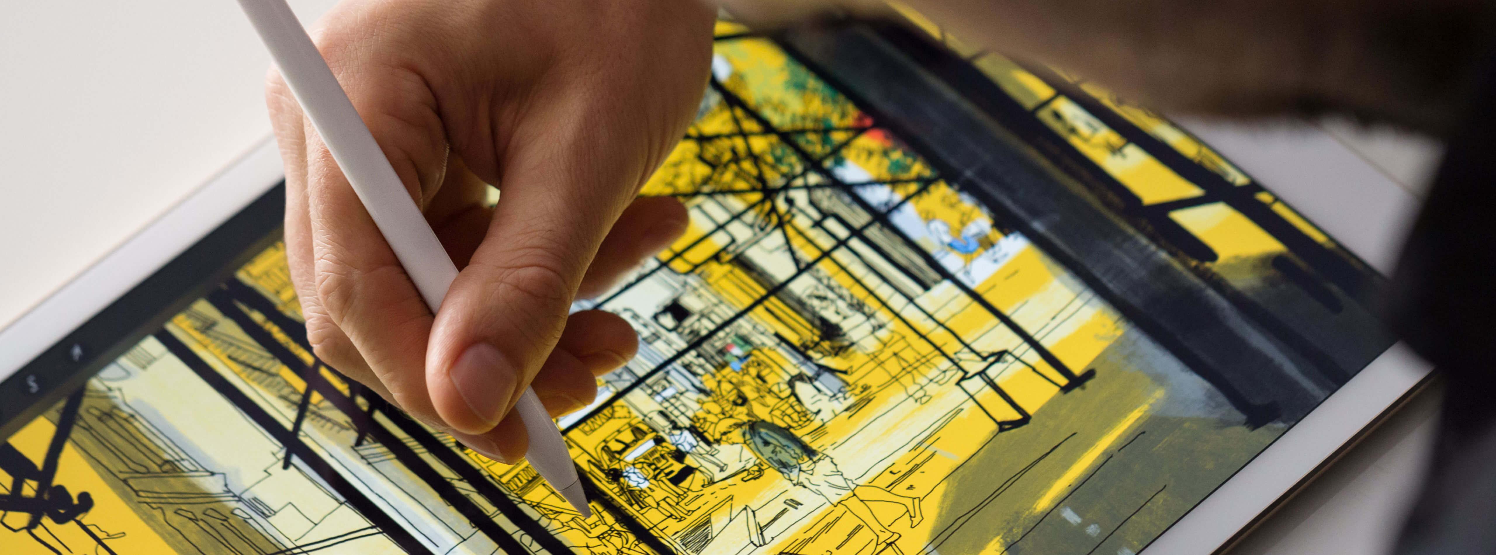 Descriere Stylus APPLE Pencil pentru iPad Pro