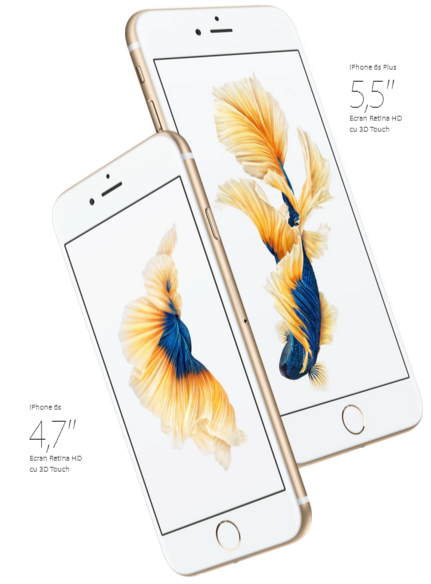 Descriere APPLE iPhone 6S, 64GB, Gold