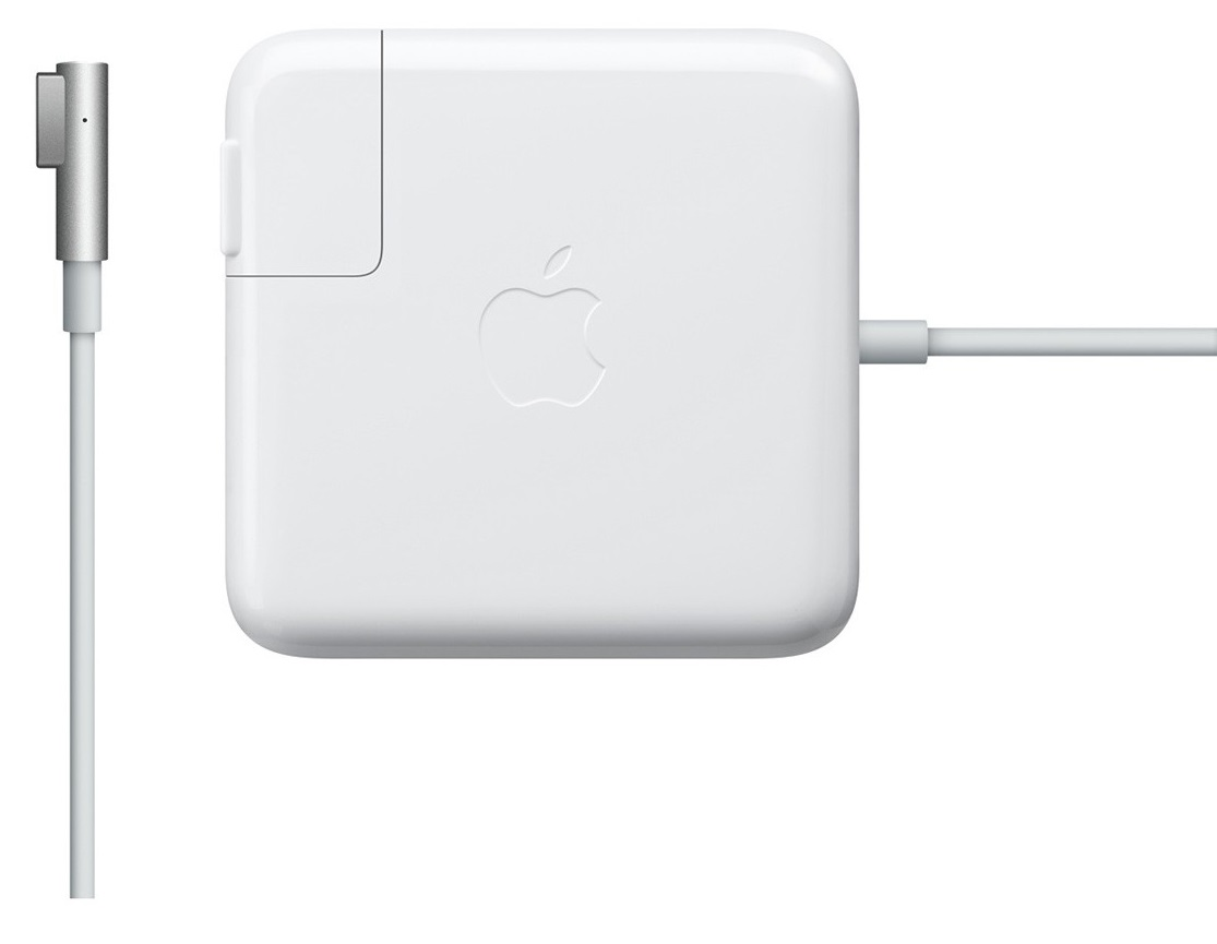 Descriere Incarcator laptop APPLE MagSafe mc556z/b, 85W, alb