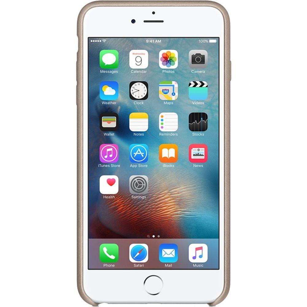 Descriere Husa de protectie APPLE pentru iPhone 6s, Piele, Rose Gray