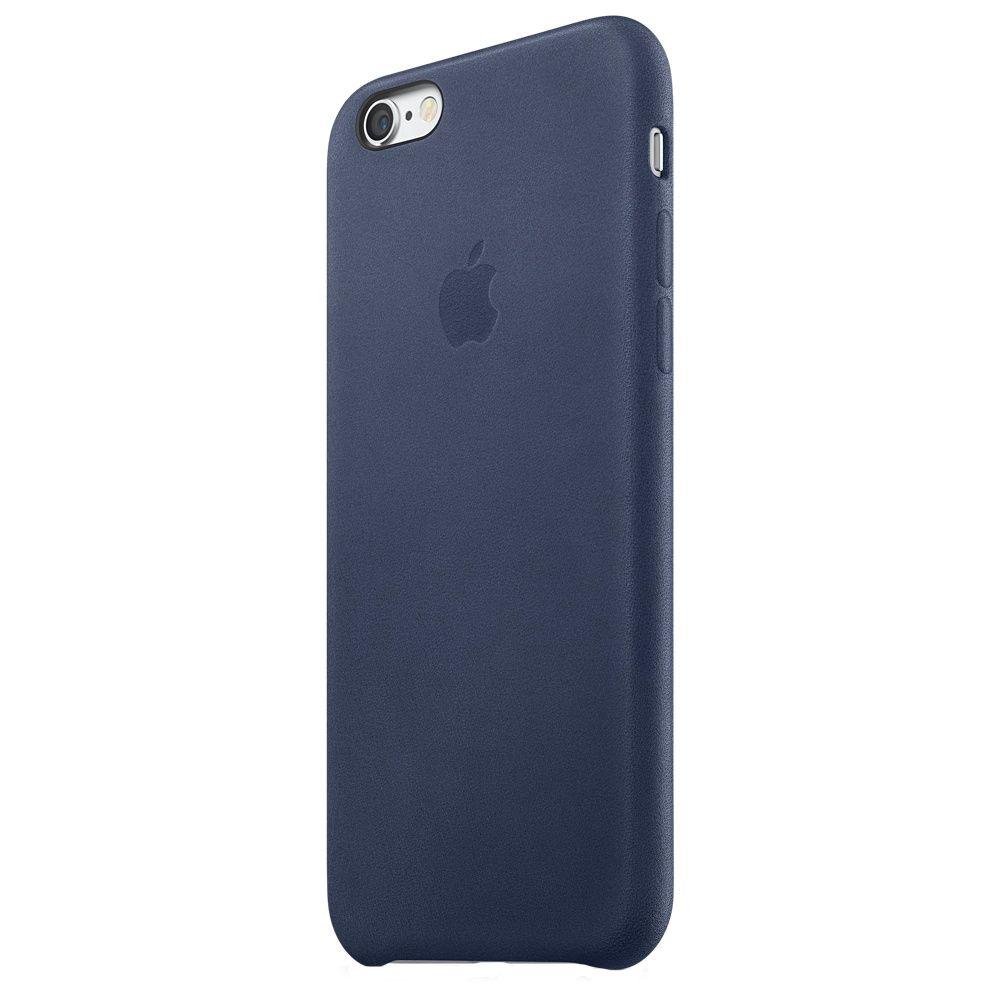 Descriere Husa de protectie APPLE pentru iPhone 6s, Piele, Midnight Blue