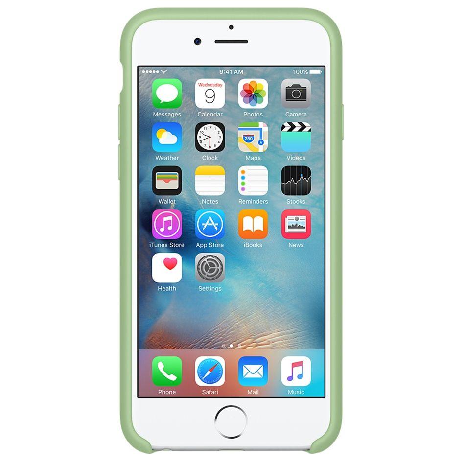 Descriere Husa de protectie APPLE pentru iPhone 6s Plus, Silicon, Mint