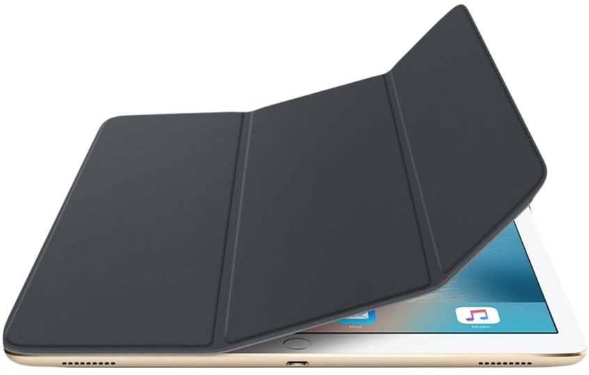 Descriere Husa APPLE Smart Cover pentru iPad Pro, Charcoal Grey