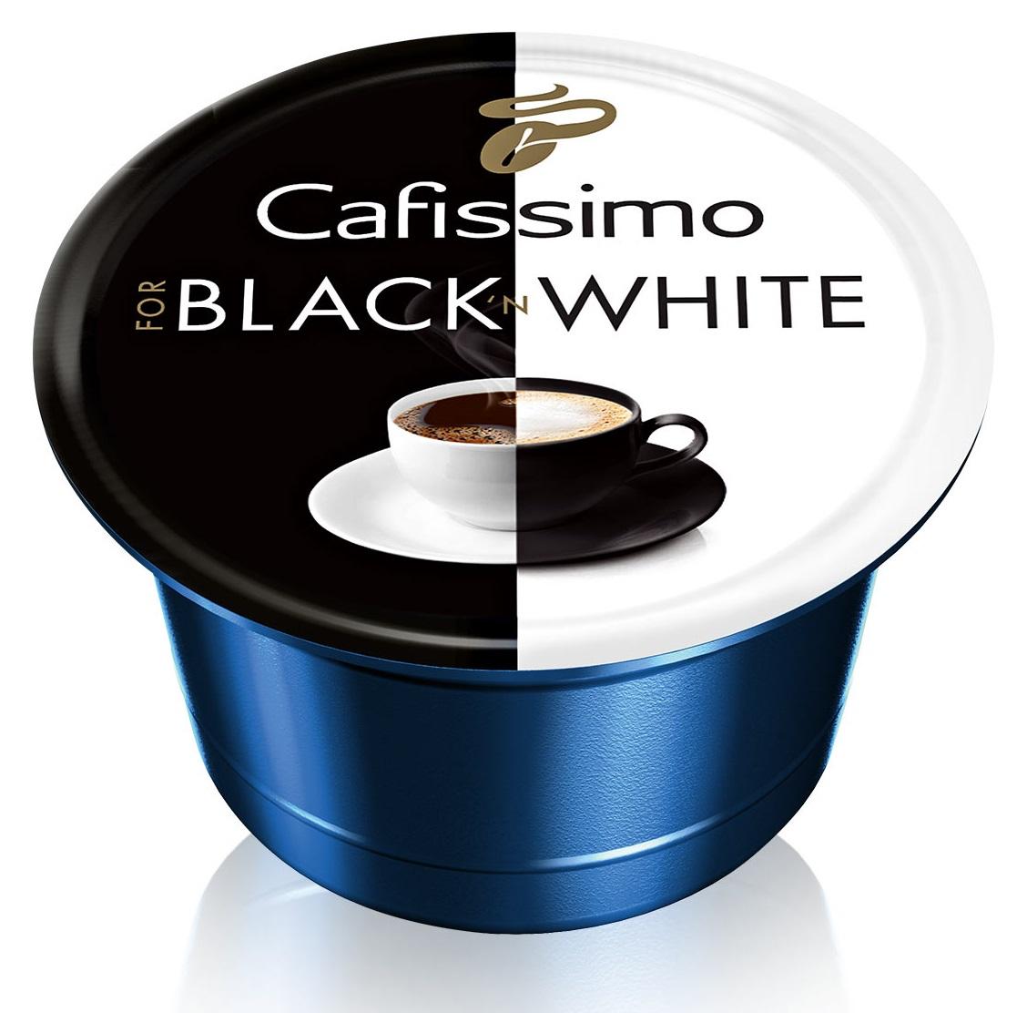 Descriere Capsule cafea, 10 capsule/cutie, TCHIBO Black'n White