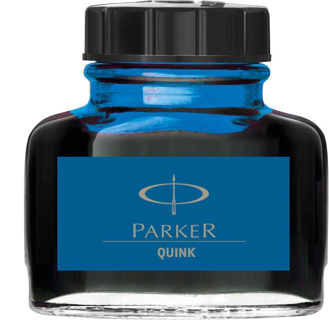 Descriere Cerneala, 57ml, albastru-lavabil, PARKER Quink