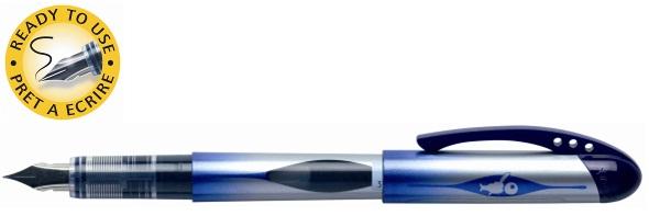 Descriere Stilou, unica folosinta, albastru, BIC All in One