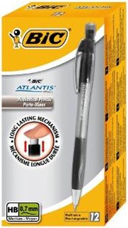 Descriere Creion mecanic 0.7mm, BIC ATLANTIS