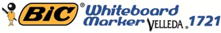 Descriere Marker pentru tabla (whiteboard), 1.5mm, 4 culori/set, BIC Velleda 1721