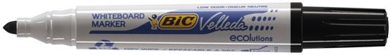Descriere Marker pentru tabla (whiteboard), 2.5mm, albastru, BIC Velleda 1701