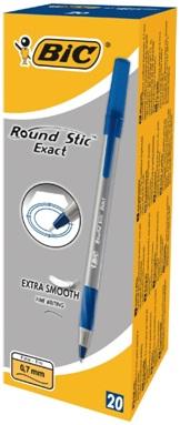 Descriere Pix fara mecanism, 0.4mm, negru, BIC Round Stic Exact