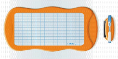Descriere Tablita pentru practica/desen, 20 x 31cm, BIC KIDS