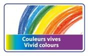 Descriere Creioane colorate, forma triunghiulara, 1/1, 12 culori/set, BIC EVOLUTION