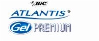 Descriere Roller cu gel, 0.7mm, negru, BIC ATLANTIS GEL