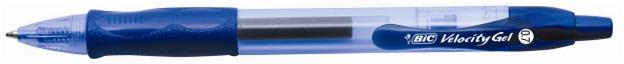Descriere Roller, cu mecanism, 0.7mm, negru, BIC Velocity Gel