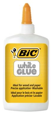 Descriere Lipici lichid alb (pentru activitati creative), 118ml, BIC WHITE Glue