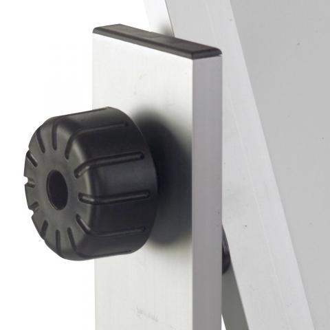Descriere Tabla magnetica - whiteboard, cu doua suprafete, rama din aluminiu, 150 x 90cm, SMART