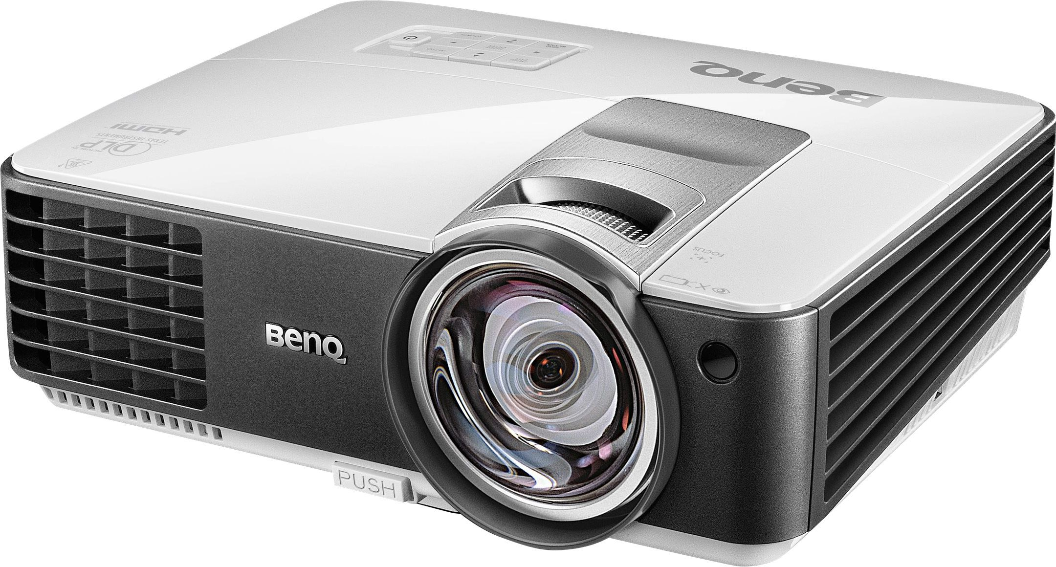 Descriere Videoproiector BENQ MX819ST, XGA, 3D, 3000 lumeni, HDMI