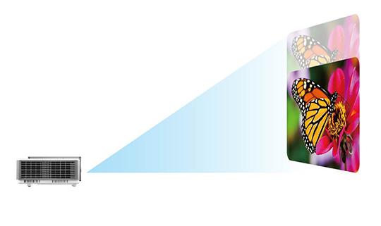 Descriere Videoproiector BENQ SW921, DLP, WXGA, 5000 lumeni