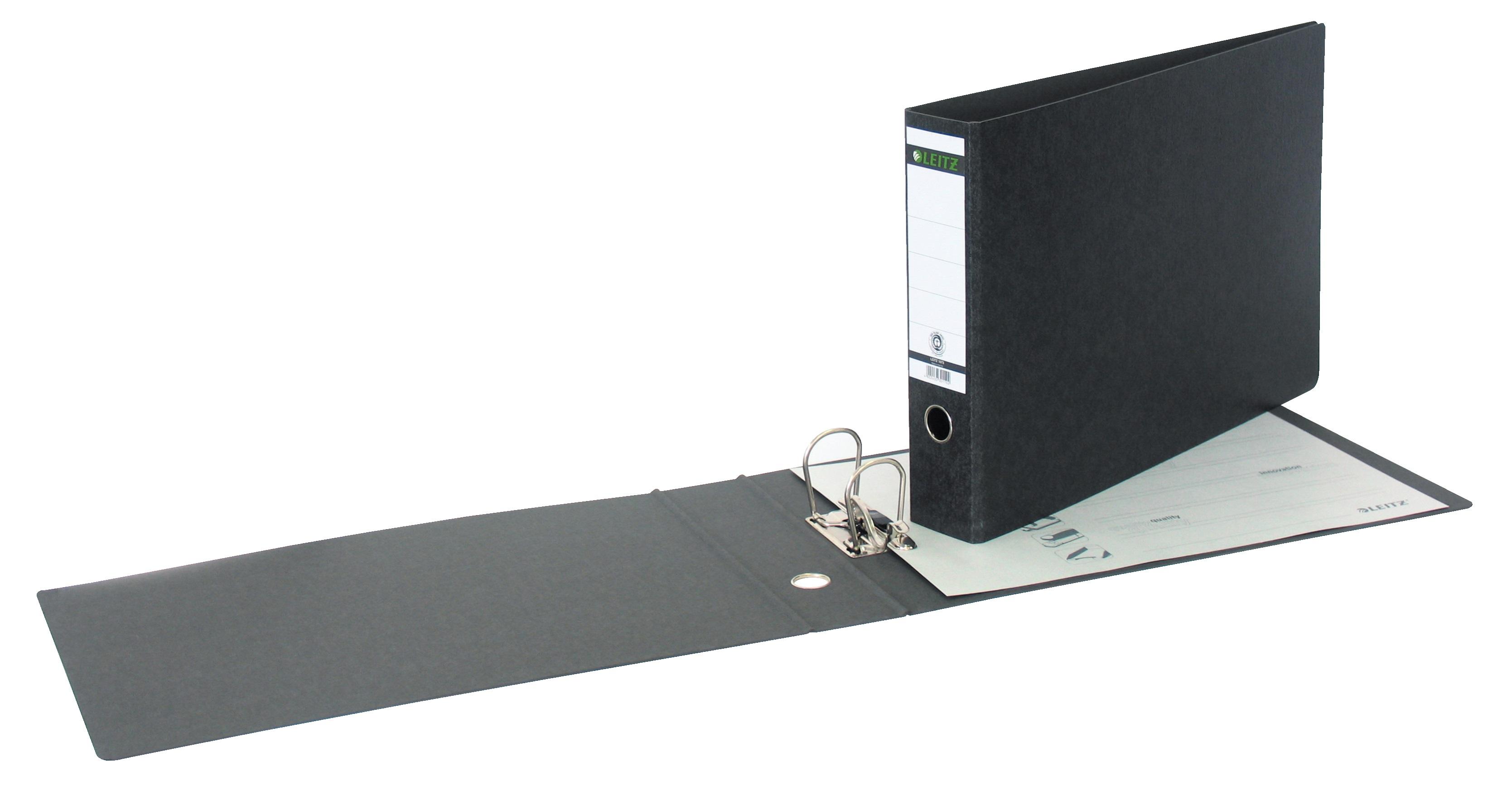 Descriere Biblioraft A3, 7.7cm, negru, LEITZ 180°