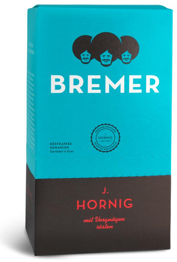 Descriere Cafea macinata, 500gr, J. HORNIG Bremer