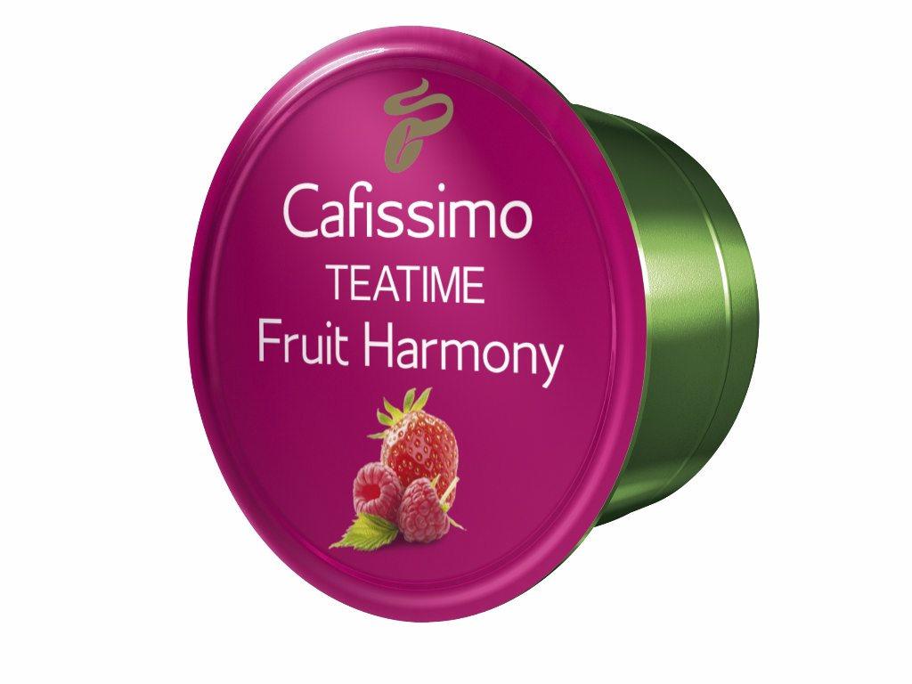 Descriere Capsule ceai, 10 capsule/cutie, Fruit Harmony, TCHIBO Cafissimo Teatime