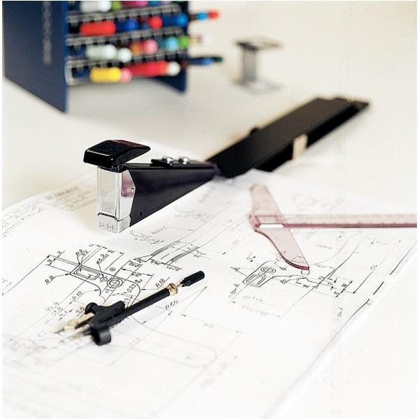Descriere Capsator cu brat lung (300 mm), 40 coli, RAPID Classic HD12