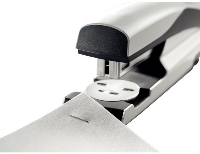 Descriere Capsator metalic de birou, pentru maxim 40 coli, capse 24/8, gri, LEITZ 5504 NeXXt Series