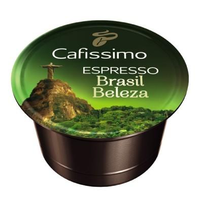Descriere Capsule cafea, 10 capsule/cutie, Espresso, TCHIBO Cafissimo Brasil Beleza