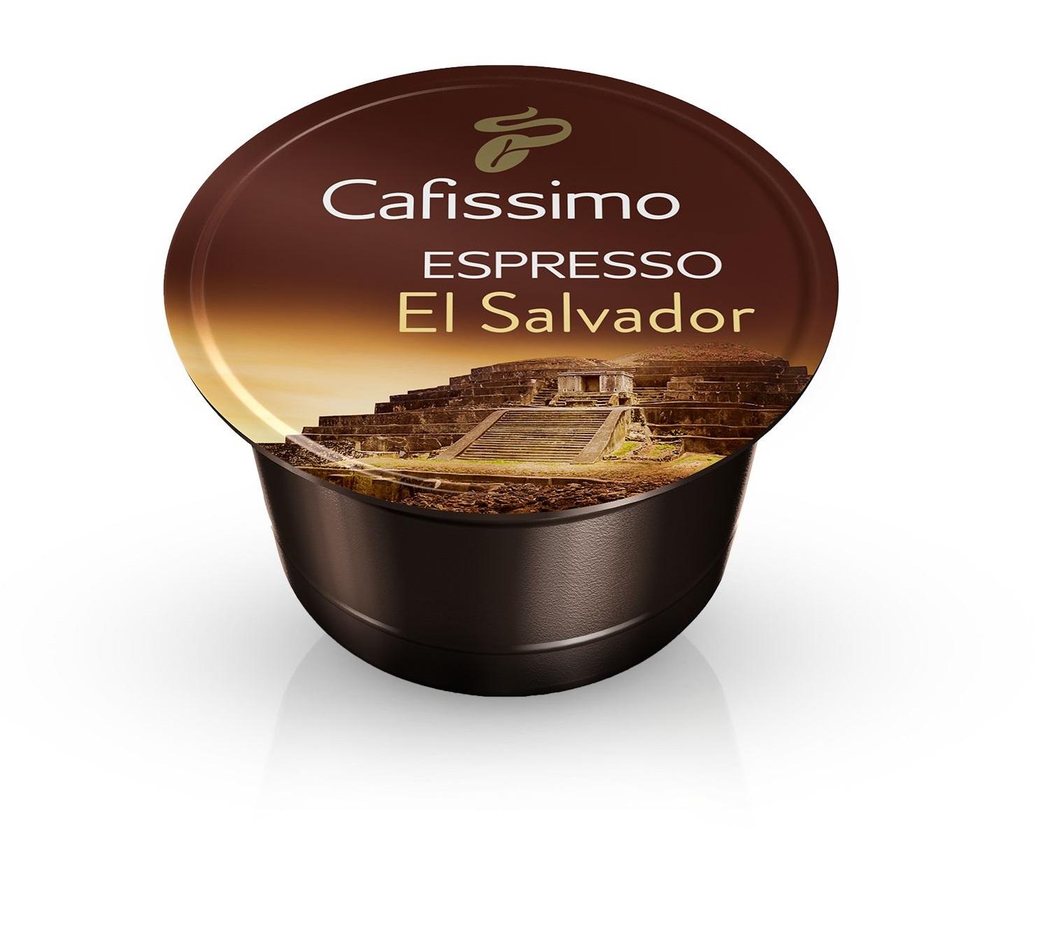 Descriere Capsule cafea, 10 capsule/cutie, Espresso, TCHIBO Cafissimo El Salvador