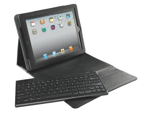Descriere Carcasa cu capac si tastatura pentru noul iPad / iPad 2, QWERTY, negru, LEITZ Complete Classic Pro