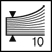 Descriere Capsator de birou, pentru maxim 10 coli, capse nr. 10, albastru, RAPID F5