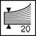 Descriere Capsator plastic pentru maxim 20 coli, capse 24/6, negru, RAPID F6