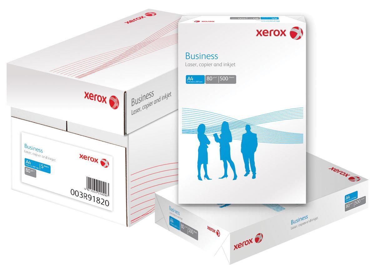 Descriere Hartie A4, 80 g/mp, 500 coli/top, XEROX Business