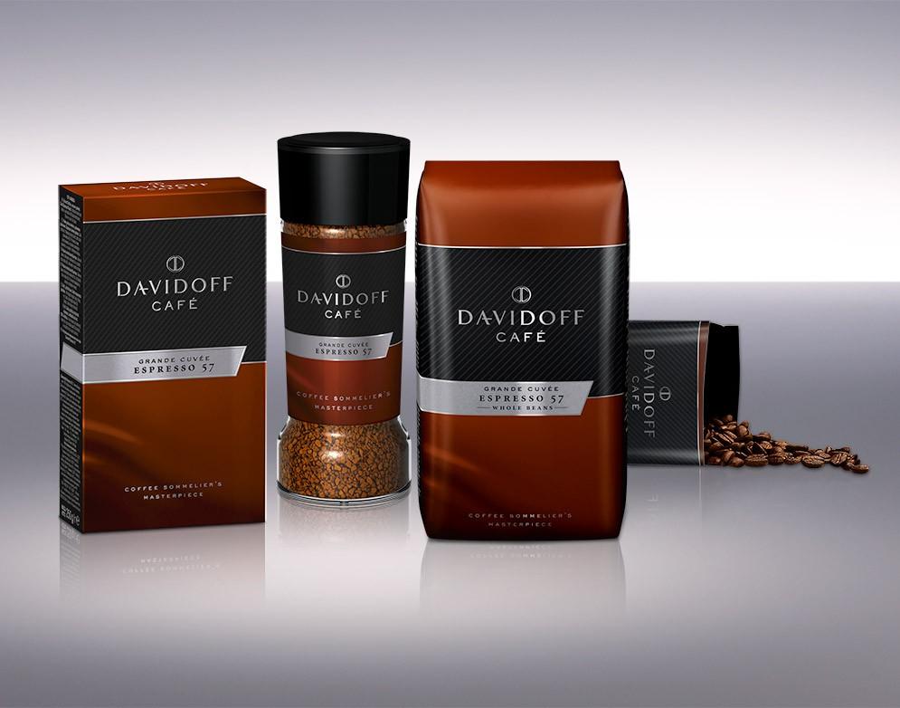 Descriere Cafea instant, 100g, DAVIDOFF Café Espresso 57