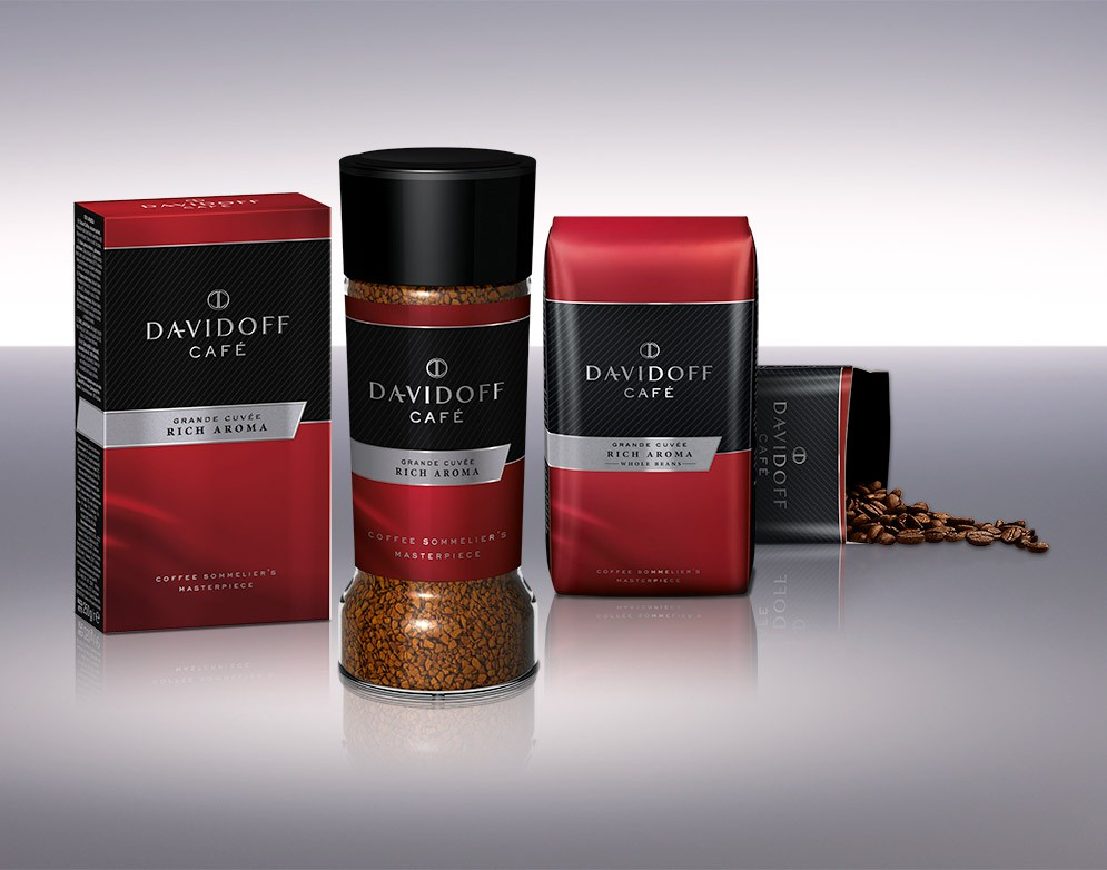 Descriere Cafea prajita si macinata, 250g, DAVIDOFF Rich Aroma