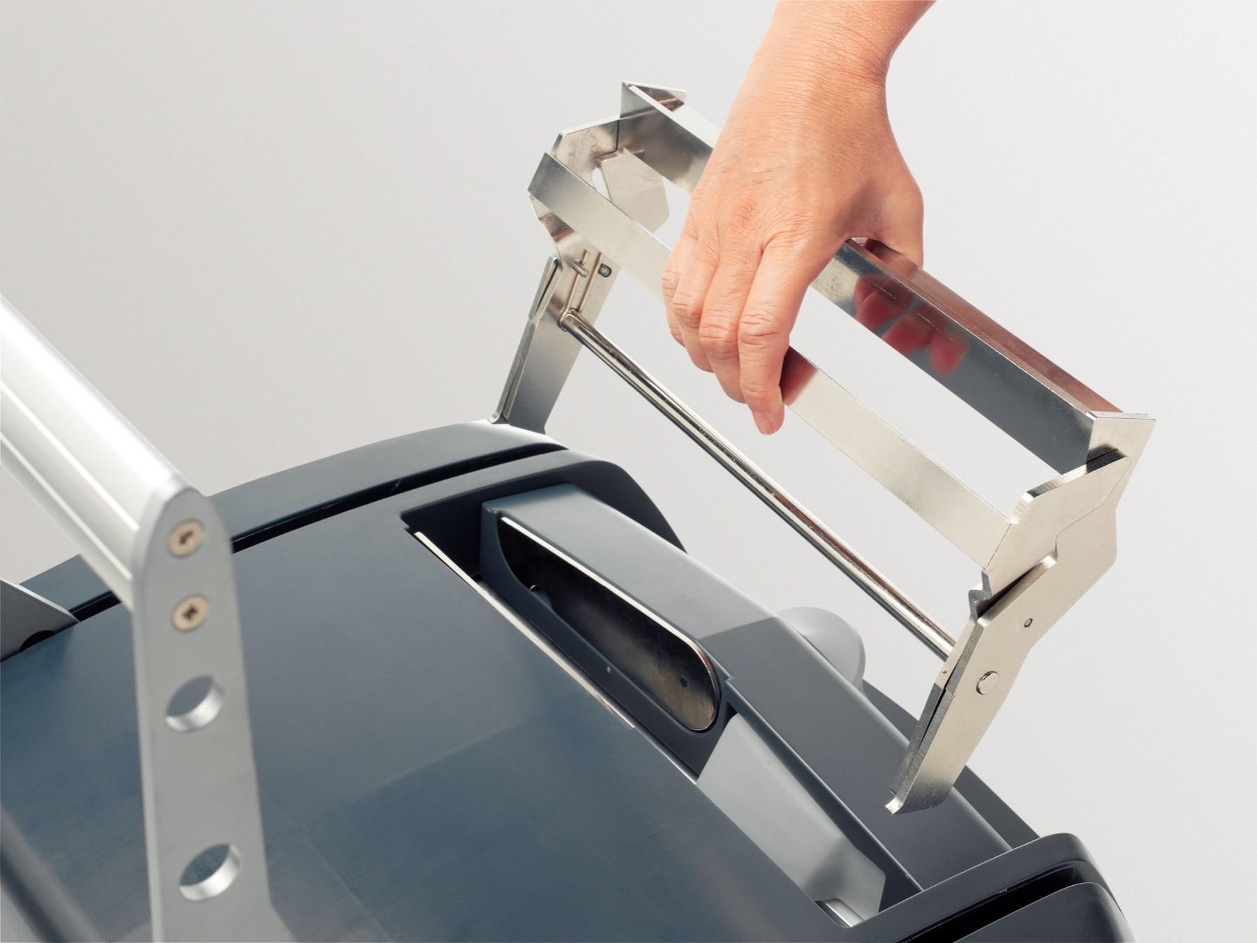 Descriere Dispozitiv pentru desfacerea documentului legat cu LEITZ impressBIND 280