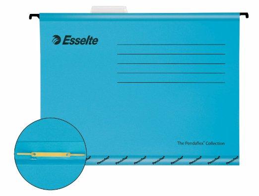 Descriere Dosar suspendabil cu separatoare, albastru, ESSELTE Classic