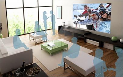 Descriere Videoproiector EPSON EH-TW5210, Full HD, 3D, 2200 lumeni, HDMI