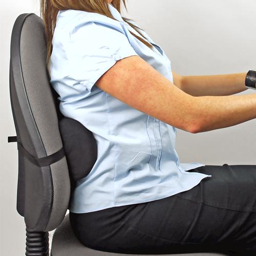 Descriere Suport ergonomic pentru spate, portabil, FELLOWES