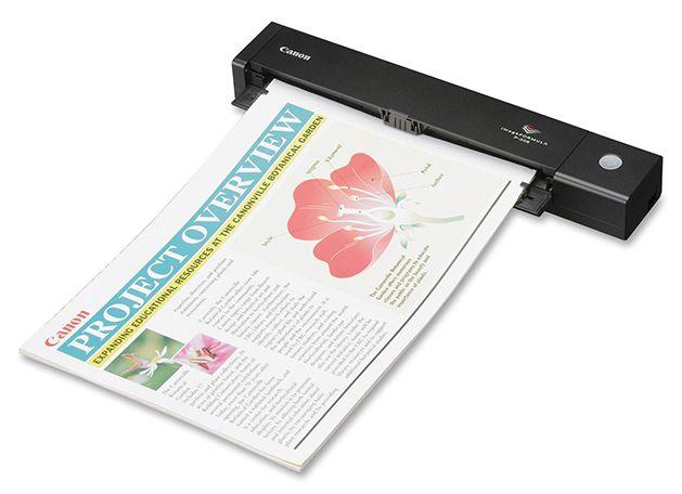 Descriere Scanner CANON imageFORMULA P-208II, A4, Mobil, USB 2.0