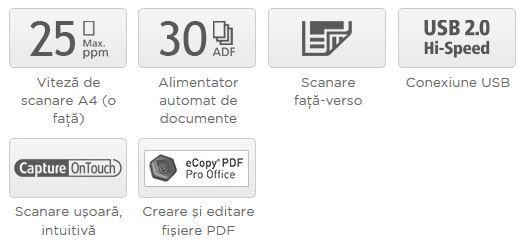 Descriere Scanner CANON DR-C225