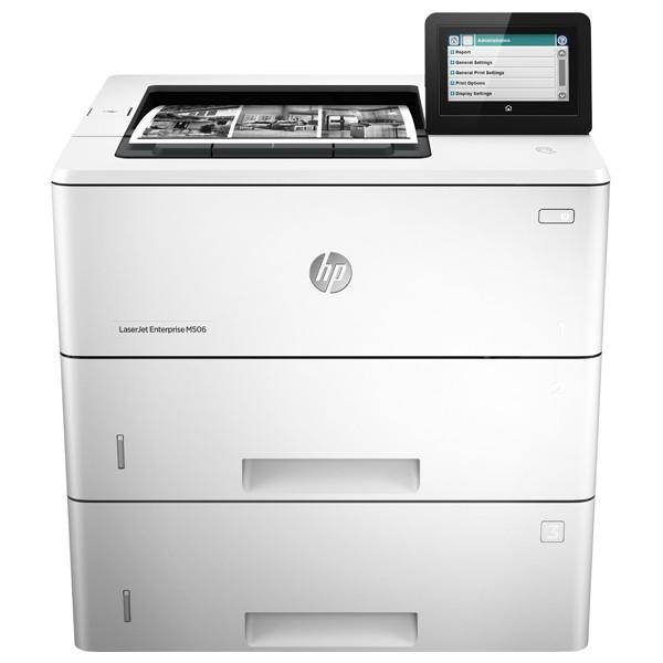 Descriere Imprimanta laser monocrom HP LaserJet Enterprise M506x, A4, USB, Retea, NFC