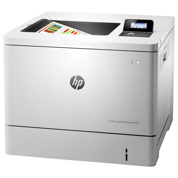 Descriere Imprimanta laser color HP LaserJet Enterprise M553dn (B5L25A), A4, USB, Retea