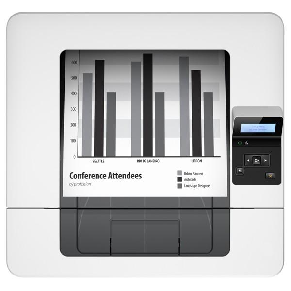 Descriere Imprimanta laser monocrom HP LaserJet Pro M402d, A4, USB, alb