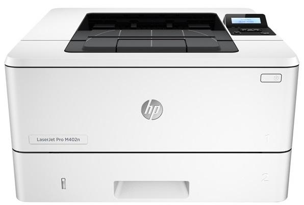 Descriere Imprimanta laser monocrom HP LaserJet Pro M402n, A4, USB, Retea