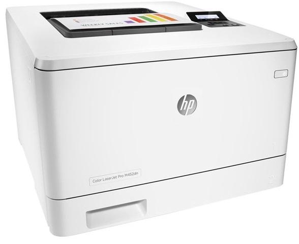 Descriere Imprimanta laser color HP LaserJet Pro M452dn, A4, USB, Retea