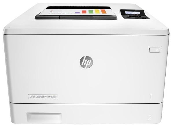 Descriere Imprimanta laser color HP LaserJet Pro M452nw, A4, USB, Retea, Wi-Fi