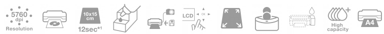 Descriere Imprimanta inkjet color EPSON L810 CISS, A4, USB, Retea, Wi-Fi